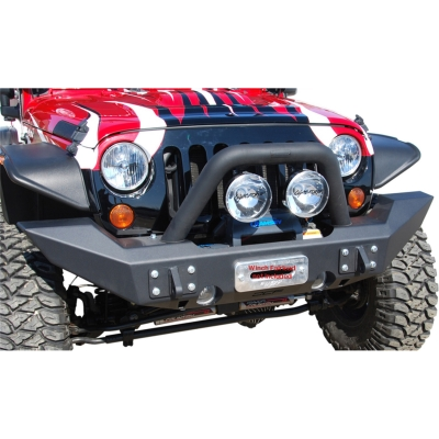 Off Camber Fabrications Full Width Front Bumper Package (Black) - 131174