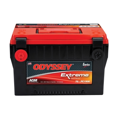 Odyssey Batteries Extreme Series, Group 78, 880 CCA, Side Post - 78-PC1500