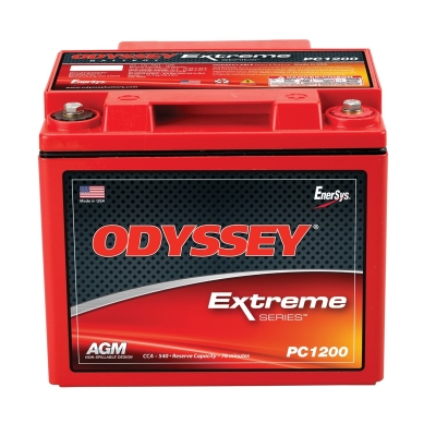 Odyssey Batteries Extreme Series, Universal, 540 CCA, Top Post - PC1200MJ