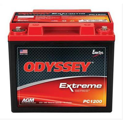Odyssey Batteries Extreme Series, Universal, 540 CCA, Top Post - PC1200