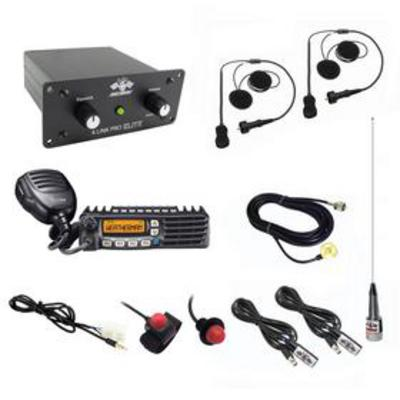Image of PCI Race Radios California Ultimate 2 Seat Package with Helmet Wiring Kits - 1098