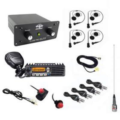 Image of PCI Race Radios California Ultimate 4 Seat Package with Helmet Wiring Kits - 1099