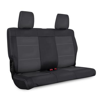 PRP Vinyl Rear Bench Seat Cover (Black and Gray) - B024-03