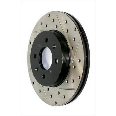 Power Slot Sportstop Drilled and Slotted Brake Rotor - 127.67068R