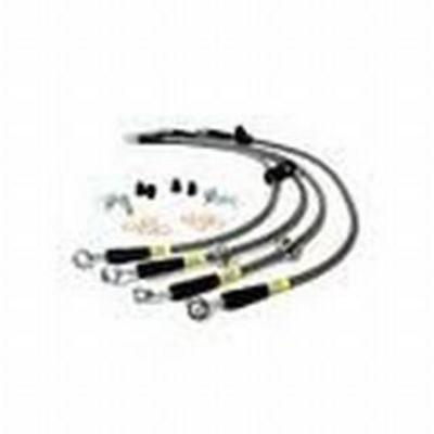 Image of Power Slot Brake Line Kit, Stainless Steel, Lifted Height of 2 Inch to 4 in. - 950.665