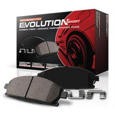 Power Stop Z16 Evolution Ceramic Clean Ride Scorched Brake Pads - 16-1349 PST16-1349