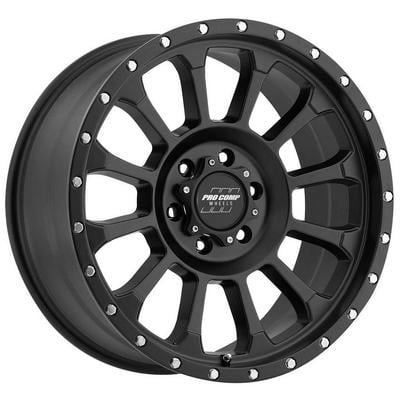 Pro Comp Series 5034 Rockwell, 18x9 Wheel with 6 on 135 Bolt Pattern - Satin Black - 5034-8936