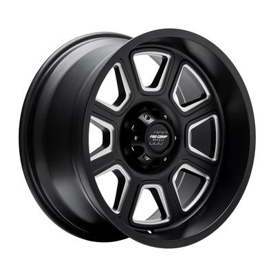Image of Pro Comp 64 Series Gunner, 17x9 with 6x5.5 Bolt Pattern - Satin Black Milled- 5164-7983
