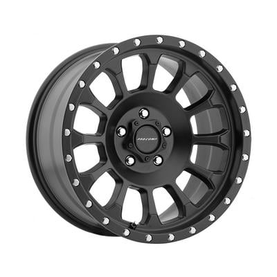 Pro Comp Series 5034 Rockwell, 18x9 Wheel with 8 on 6.5 Bolt Pattern - Satin Black - 5034-8982