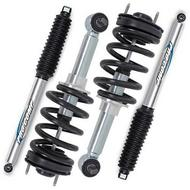 Pro Comp 2 Front Pro Runner Adjustable Struts and 2 Rear Pro Runner Monotube Shocks - SHOCKINGZXCOMBO