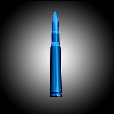 Image of Recon .50 Cal Bullet Shaped Aluminum (Blue) - 264ANT50BL