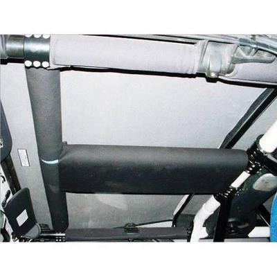 Rock Hard 4x4 Parts T-Section and Side Bar Padding (Black) - RH-1002-TP