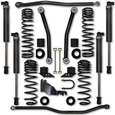 Rock Krawler 3.5 Inch JL Adventure Series 1 Suspension System - Stage 1 with 2.25 RRD Shocks - JL35AS1-4S1