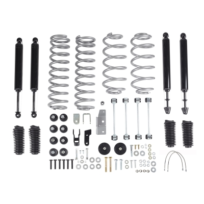 Rubicon Express 3.5 Inch Super-Flex Short Arm Lift Kit with TwinTube Shocks - RE7003T