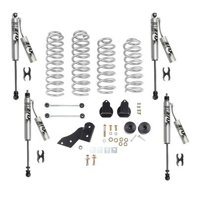Rubicon Express 2.5 Inch Standard Coil Lift Kit with Fox Performance Resi Shocks - RE7121FPR