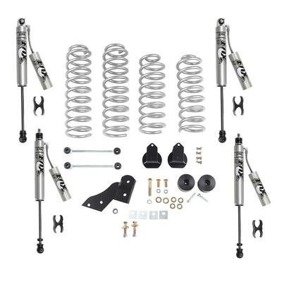 Rubicon Express 2.5 Inch Standard Coil Lift Kit with Fox Performance Resi Shocks - RE7141FPR
