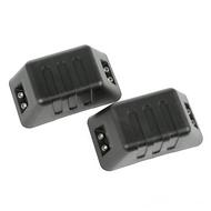 Rugged Ridge XHD Front Bumper Tow Point Covers (Plastic) - 11540.26