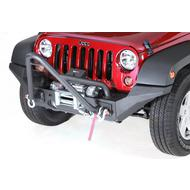 Rugged Ridge XHD High Clearance Front Bumper Ends (Black) - 11540.24