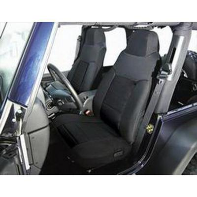 Rugged Ridge Custom Fabric Front Seat Covers (Black) - 13241.01