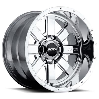 Image of SOTA Offroad A.W.O.L., 20x10 Wheel with 5 on 150 Bolt Pattern - Polished - 569PL-21057-25