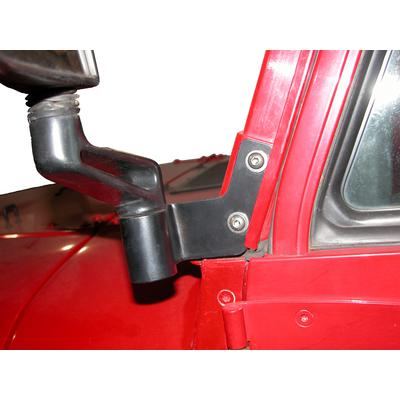 Skid Row Off Road Mirror Relocation Brackets (Black) - JP-1019
