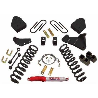 Skyjacker 4 Inch Suspension Lift Kit with Black MAX Shocks - F8451K-B