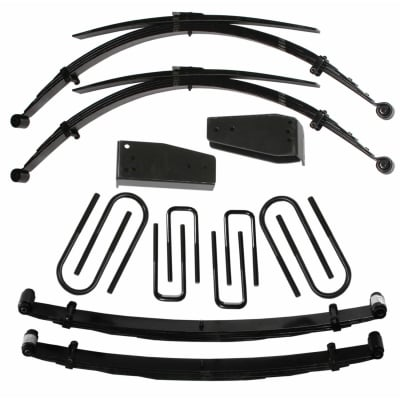 Skyjacker 6 Inch Suspension Lift Kit with Black MAX Shocks - F860TKS-B