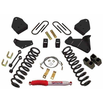 Skyjacker 6 Inch Suspension Lift Kit with Black MAX Shocks - F8651KH-B