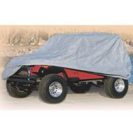 Smittybilt Full Climate Jeep Cover (Gray) - 830