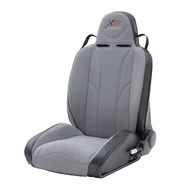 Smittybilt XRC Racing Style Recliner Seat (Black/ Gray) - 750211