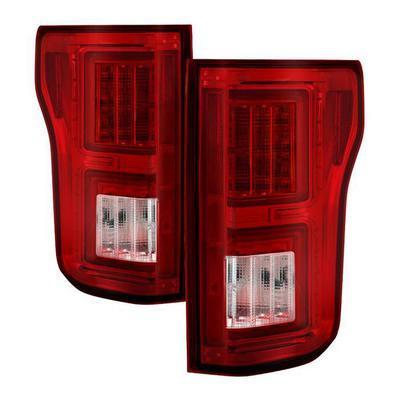 Spyder Auto Group LED Tail Lights (Red/Clear) - 5085764