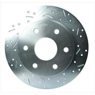 Image of Stainless Steel Brakes Big Bite Cross Drilled Rotors - 23045AA3R