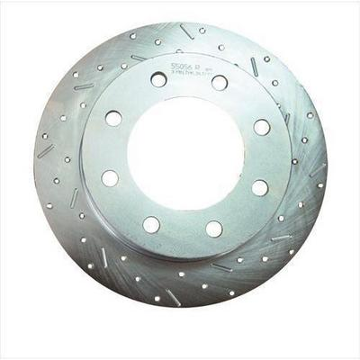Image of Stainless Steel Brakes Big Bite Cross Drilled Rotors - 23433AA3R