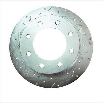 Stainless Steel Brakes Big Bite Cross Drilled Rotors - 23537AA3L