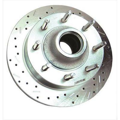 Stainless Steel Brakes Big Bite Cross Drilled Rotors - 23544AA3L