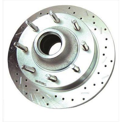 Image of Stainless Steel Brakes Big Bite Cross Drilled Rotors - 23544AA3R