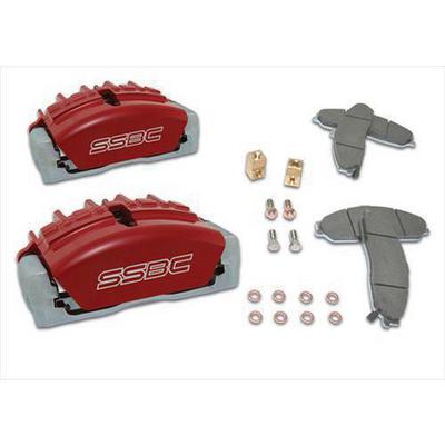 Stainless Steel Brakes Quick Change Tri-Power 3-Piston Calipers - A187-5