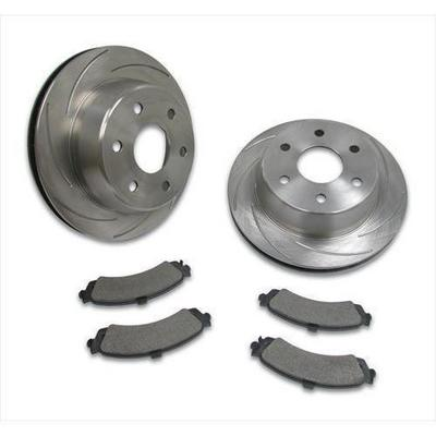 Stainless Steel Brakes Turbo Slotted Rotors - A2351020