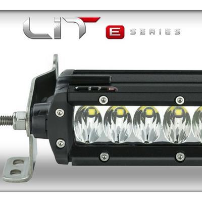 Superchips LIT E-Series 10 Single Row LED Combo Light Bar with Power Switch - 72011