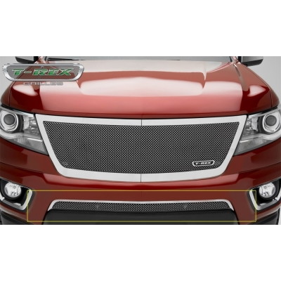 Image of T-Rex Grilles Upper Class Series Mesh Bumper Grille Overlay - 55267