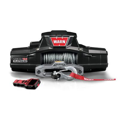 Warn Zeon Platinum 12 S Recovery 12000lb Winch With Spydura Synthetic Rope 95960 4wheelparts Com