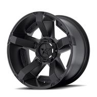 XD Wheels XD811 Rockstar II, 17x9 with 5 on 5 and 5 on 135 Bolt Pattern - Matte Black-XD81179043712N